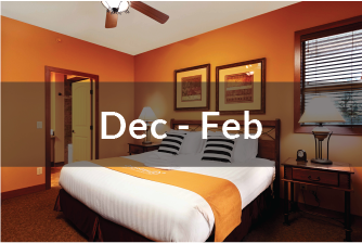 Signature Villa Dec to Feb | one bedroom suite | in-suite bathroom | with lake view | with balcony