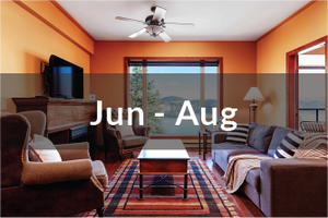 Signature Villa Jun to Aug | three bedrooms | two and half bathrooms | with balcony | with lake view