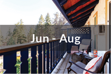 Load image into Gallery viewer, Kokanee Standard Suite Jun to Aug | two standard beds | one bathroom | with balcony