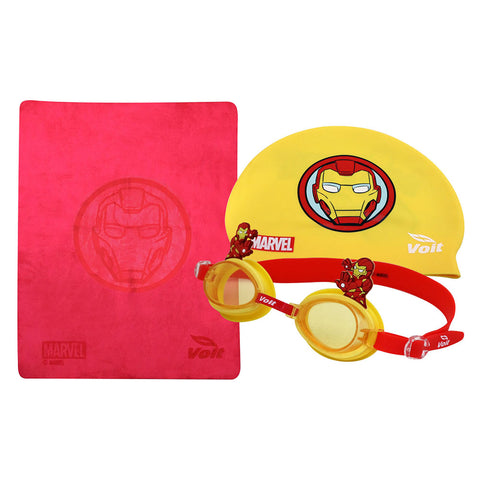 SET DE NATACIÓN MARVEL IRON MAN KID