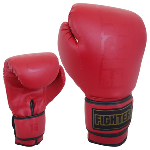GUANTES DE BOX FIGHTER ROJO