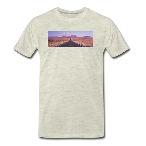 Men's Premium T-Shirt - heather oatmeal