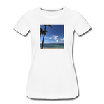 Women's Beach T-Shirt - white
