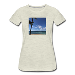 Women's Beach T-Shirt - heather oatmeal
