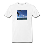 Men's Beach T-Shirt - white
