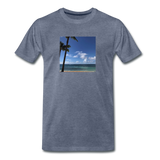 Men's Beach T-Shirt - heather blue