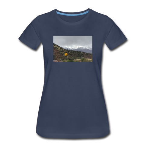 Women's Lost T-Shirt - navy
