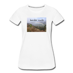 Women's Rainbow T-Shirt - white