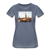 Women's Cactus T-Shirt - heather blue