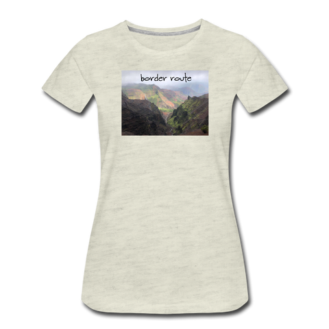 Women's Tropic T-Shirt - heather oatmeal