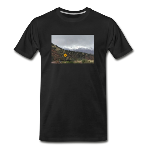 Men's Lost T-Shirt - black