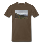 Men's Lost T-Shirt - noble brown