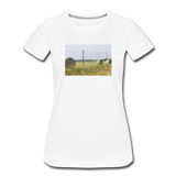 Women's Hay Barrel T-Shirt - white