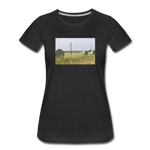 Women's Hay Barrel T-Shirt - black