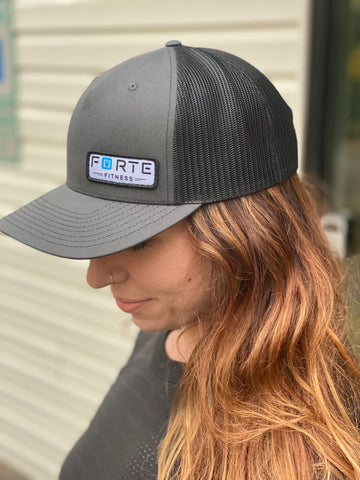 Forte Fitness Hat w/ New Logo - Five Panel Trucker