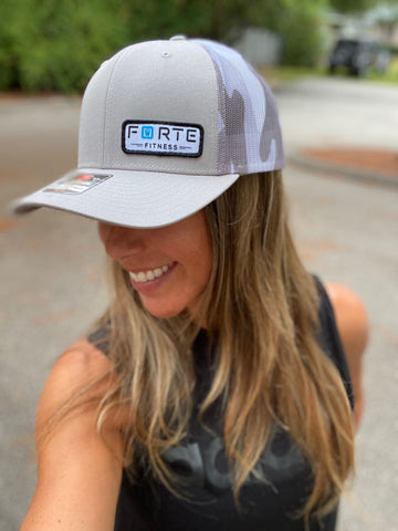 Forte Fitness Hat w/ New Logo - Printed Mesh Trucker
