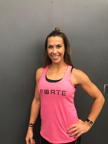 Forte Fitness Hot Pink Tank
