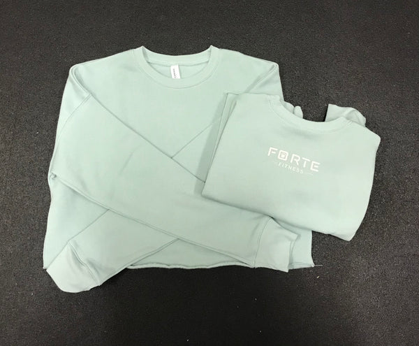 Forte Fitness Dusty Blue Crop