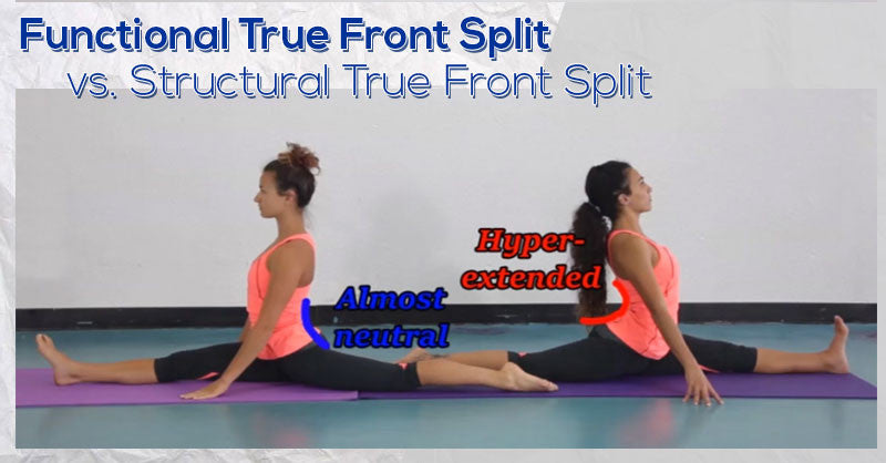 Functional True Front Split vs Structural True Front Split