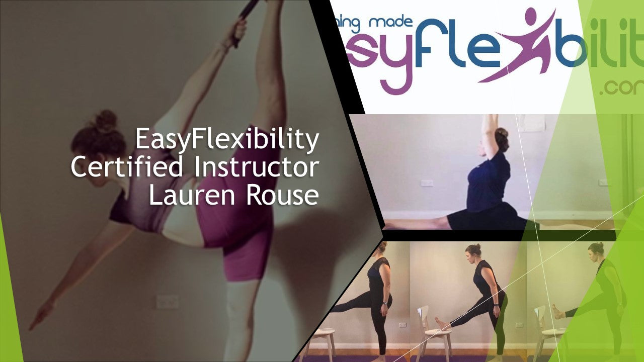 EasyFlexibility Certified Instructor Lauren Rouse
