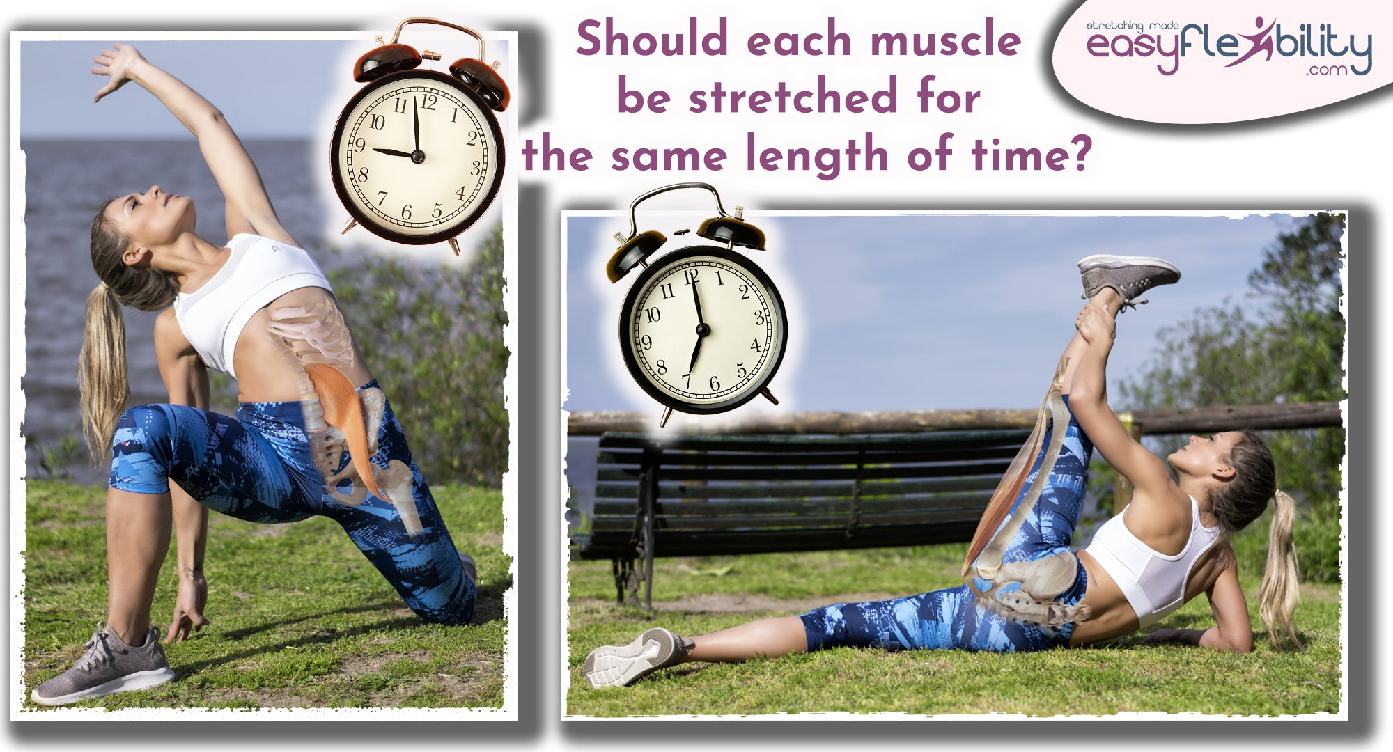 Should each muscle be stretched for the same length of time?