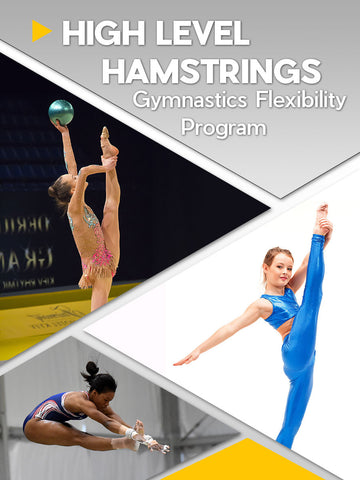 Gymnastics High Level Hamstrings Flexibility Program