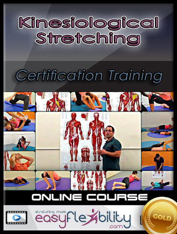 EasyFlexibility Training Certification (EFTC) Gold Edition