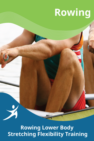Rowing Lower Body Stretching Flexibility Training