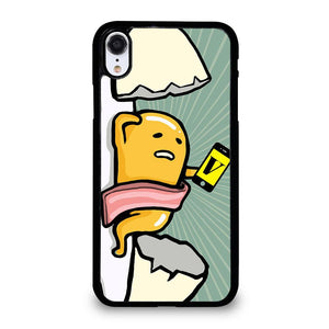 coque custodia cover fundas iphone 11 pro max 5 6 7 8 plus x xs xr se2020 C20325 GUDETAMA LAZY EGG CUTE iPhone XR Case