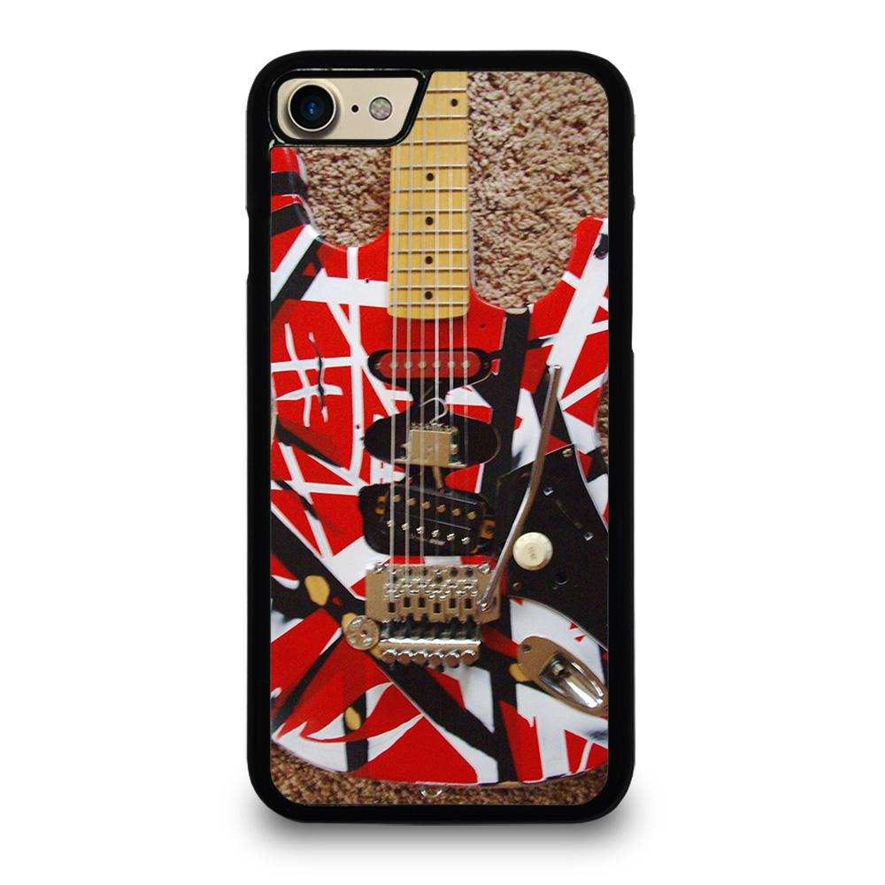 coque custodia cover fundas iphone 11 pro max 5 6 7 8 plus x xs xr se2020 C20332 GUITAR EDDIE VAN HALEN 1 iPhone 7 / 8 Case