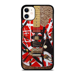 coque custodia cover fundas iphone 11 pro max 5 6 7 8 plus x xs xr se2020 C20327 GUITAR EDDIE VAN HALEN 1 iPhone 11 Case