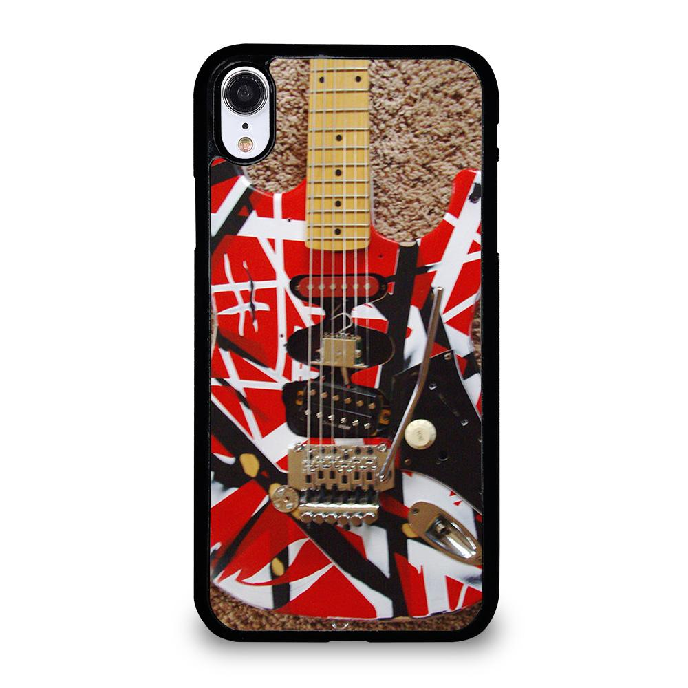 coque custodia cover fundas iphone 11 pro max 5 6 7 8 plus x xs xr se2020 C20335 GUITAR EDDIE VAN HALEN 1 iPhone XR Case