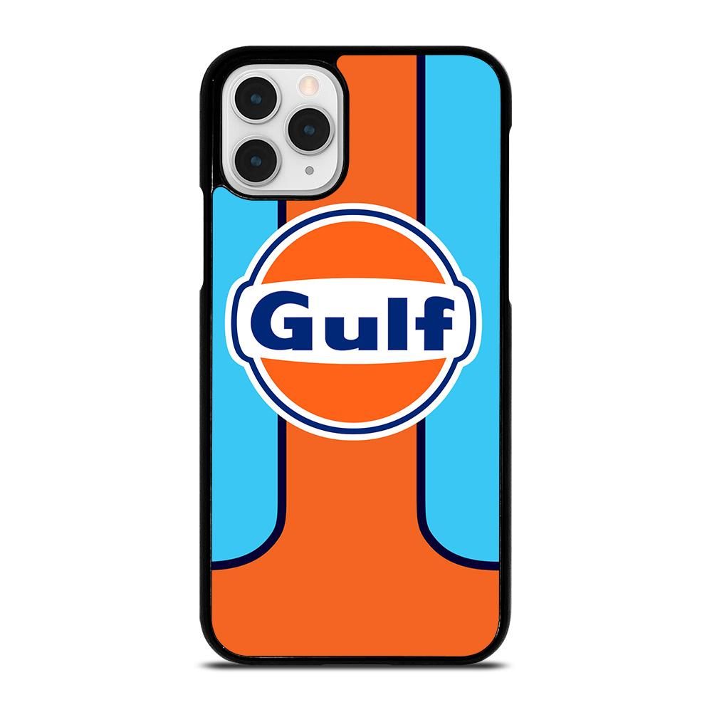 coque custodia cover fundas iphone 11 pro max 5 6 7 8 plus x xs xr se2020 C20358 GULF OIL MOTOR LOGO iPhone 11 Pro Case