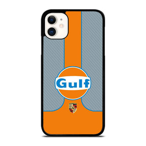 coque custodia cover fundas iphone 11 pro max 5 6 7 8 plus x xs xr se2020 C20347 GULF OIL MOTOR LOGO 1 iPhone 11 Case
