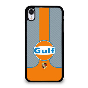 coque custodia cover fundas iphone 11 pro max 5 6 7 8 plus x xs xr se2020 C20355 GULF OIL MOTOR LOGO 1 iPhone XR Case