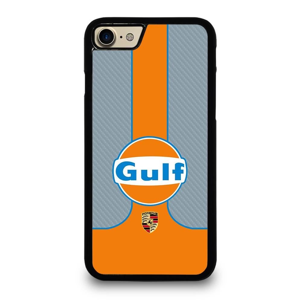coque custodia cover fundas iphone 11 pro max 5 6 7 8 plus x xs xr se2020 C20352 GULF OIL MOTOR LOGO 1 iPhone 7 / 8 Case