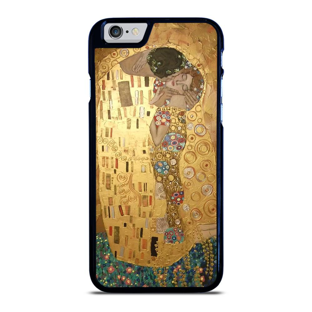 coque custodia cover fundas iphone 11 pro max 5 6 7 8 plus x xs xr se2020 C20403 GUSTAV KLIMT THE KISS iPhone 6 / 6S Case