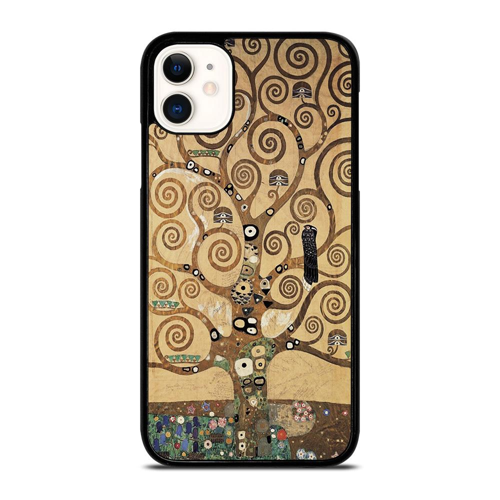 coque custodia cover fundas iphone 11 pro max 5 6 7 8 plus x xs xr se2020 C20410 GUSTAV KLIMT TREE OF LIFE 1 iPhone 11 Case