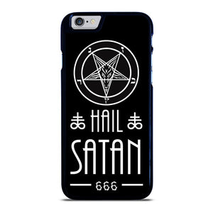 coque custodia cover fundas iphone 11 pro max 5 6 7 8 plus x xs xr se2020 C20446 HAIL SATAN DESIGN iPhone 6 / 6S Case