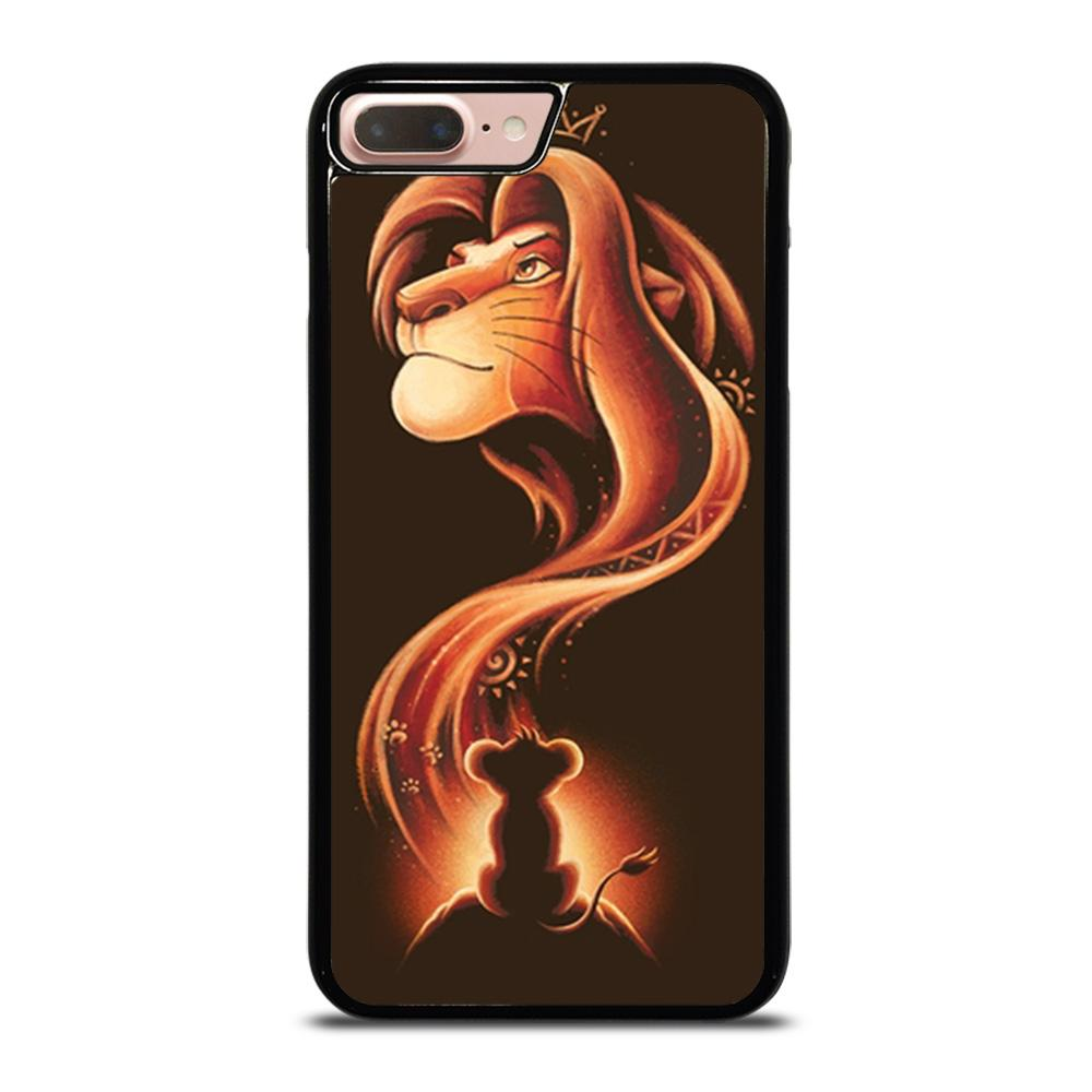 coque custodia cover fundas iphone 11 pro max 5 6 7 8 plus x xs xr se2020 C20481 HAKUNA MATATA LION KING #1 iPhone 7 / 8 Plus Case