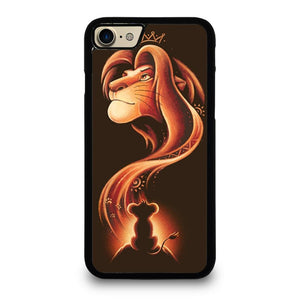 coque custodia cover fundas iphone 11 pro max 5 6 7 8 plus x xs xr se2020 C20480 HAKUNA MATATA LION KING #1 iPhone 7 / 8 Case