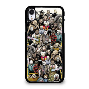 coque custodia cover fundas iphone 11 pro max 5 6 7 8 plus x xs xr se2020 C20494 HALLOWEEN CHUCKY KRUEGER SCARY iPhone XR Case
