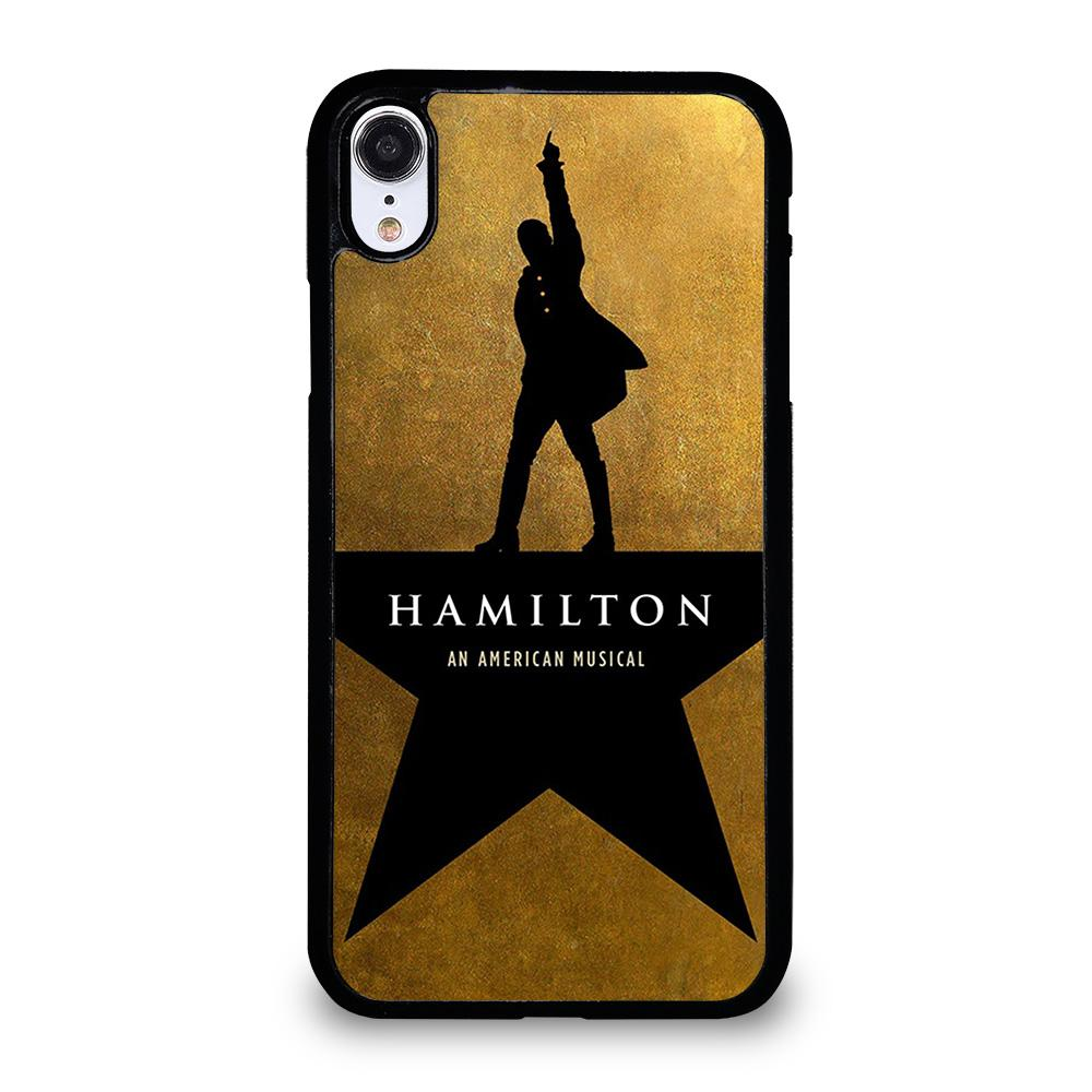 coque custodia cover fundas iphone 11 pro max 5 6 7 8 plus x xs xr se2020 C20565 HAMILTON AN AMERICAN MUSICAL iPhone XR Case