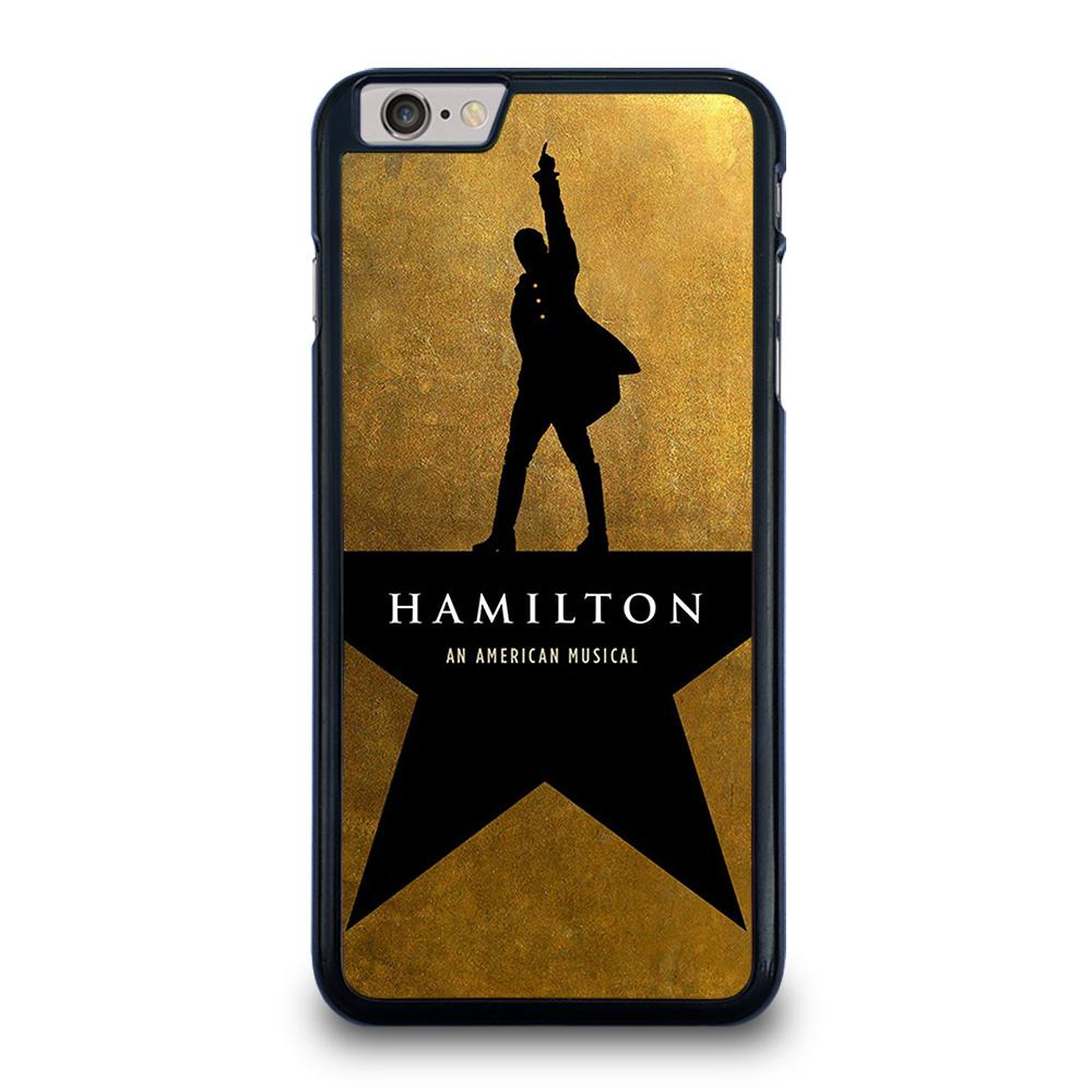 coque custodia cover fundas iphone 11 pro max 5 6 7 8 plus x xs xr se2020 C20561 HAMILTON AN AMERICAN MUSICAL iPhone 6 / 6S Plus Case