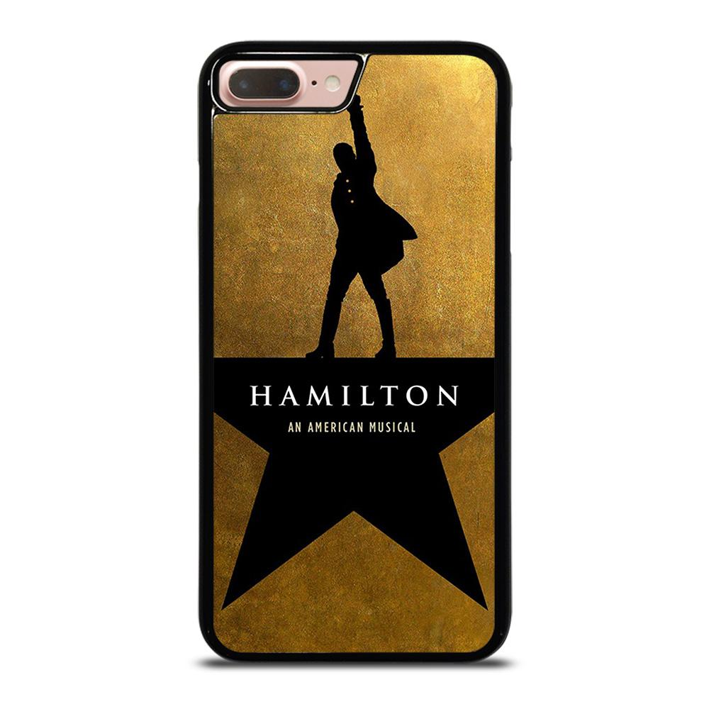 coque custodia cover fundas iphone 11 pro max 5 6 7 8 plus x xs xr se2020 C20563 HAMILTON AN AMERICAN MUSICAL iPhone 7 / 8 Plus Case