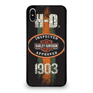 coque custodia cover fundas iphone 11 pro max 5 6 7 8 plus x xs xr se2020 C20599 HARLEY DAVIDSON 1903 INSPECTED iPhone XS Max Case