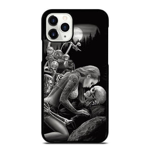 coque custodia cover fundas iphone 11 pro max 5 6 7 8 plus x xs xr se2020 C20637 HARLEY DAVIDSON RIDER SKULL iPhone 11 Pro Case