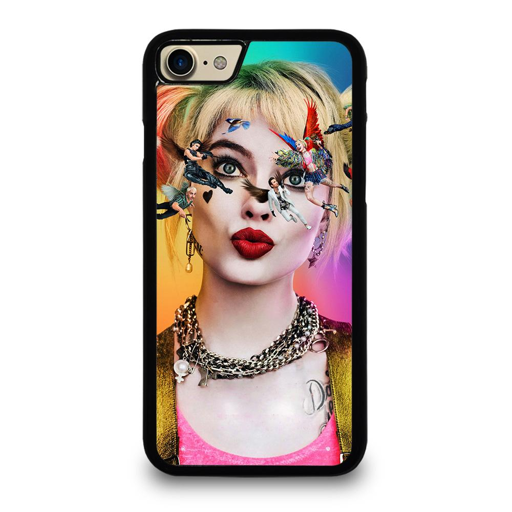 coque custodia cover fundas iphone 11 pro max 5 6 7 8 plus x xs xr se2020 C20715 HARLEY QUINN BIRDS OF PREY 3 iPhone 7 / 8 Case