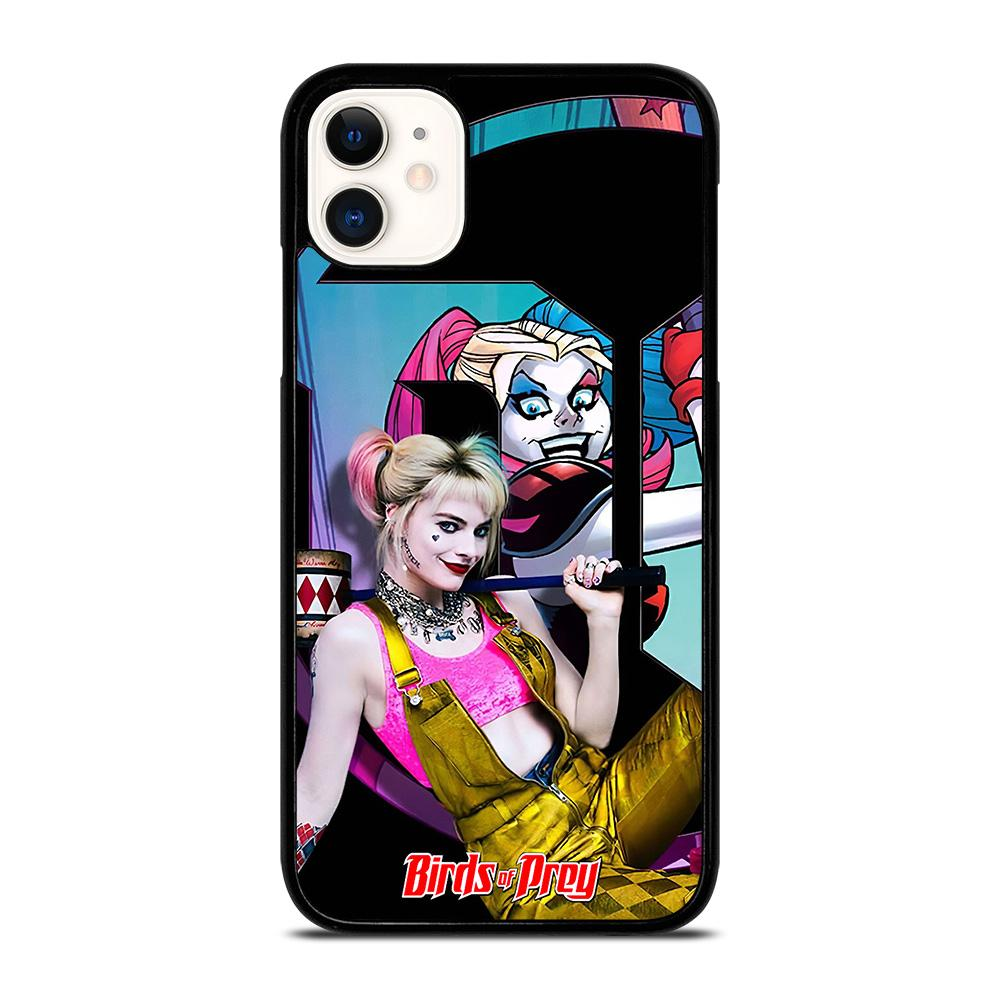 coque custodia cover fundas iphone 11 pro max 5 6 7 8 plus x xs xr se2020 C20720 HARLEY QUINN BIRDS OF PREY 4 iPhone 11 Case