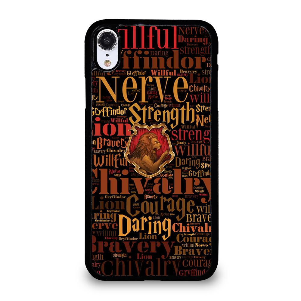 coque custodia cover fundas iphone 11 pro max 5 6 7 8 plus x xs xr se2020 C20749 HARRY POTTER CHIVALRY iPhone XR Case